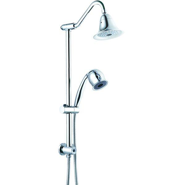 Gooseneck Spa Shower, CHROME Finish